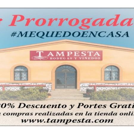 Prórroga Promoción #MEQUEDOENCASA