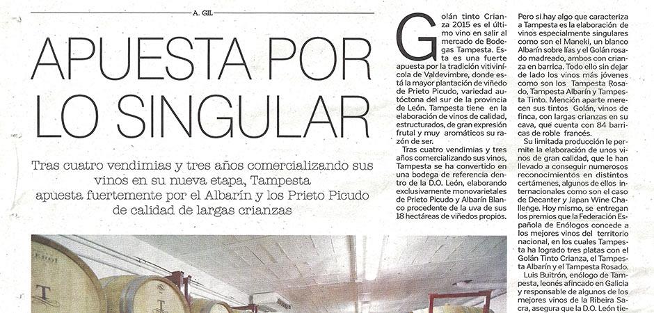 Artículo Diario de León (5/04/2019)