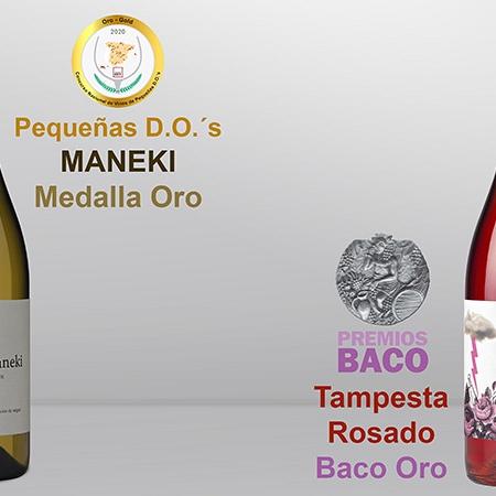 Dos nuevas medallas de Oro para los vinos Tampesta