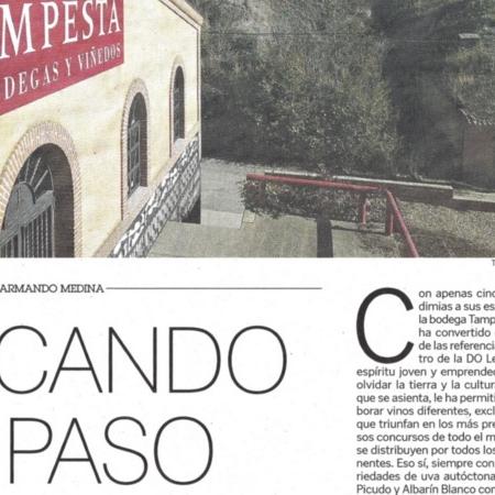 MARCANDO EL PASO - Artículo Diario de León